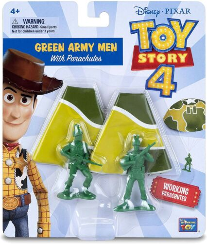 Toy Story 4 Green Army Men With Parachutes