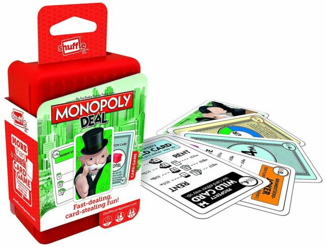 Shuffle Card Game Monopoly Deal