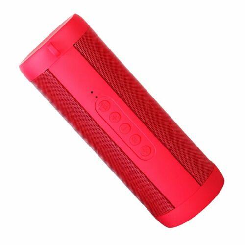 Portable Bluetooth Speaker Waterproof Sports FM Stereo Wireless LED Flashlight