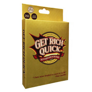 Get Rich Quick (Formally Billionaire) Card Game NEW
