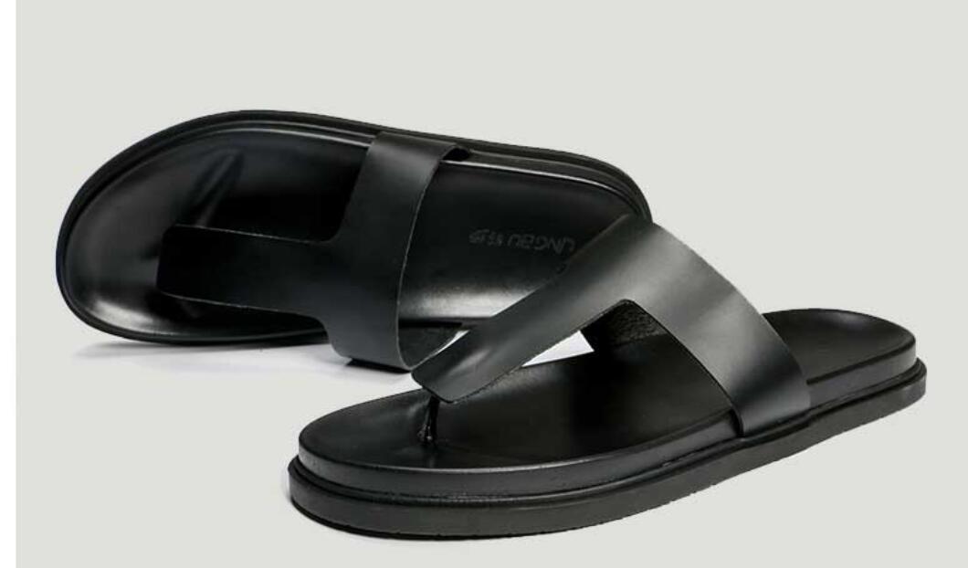 8a7b96200601 New Mens Leather Flip Flop Simple Fishmens Summer Beach Sandals Sandals  Sandals Casual Shoes New e81cb7