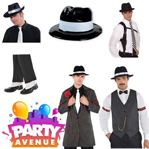 Rainbow Gangster Fancy Dress Hat Themed Party Colourful Accessory