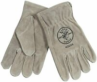 Klein Tools 40004 Cowhide Driver's Glove, Medium