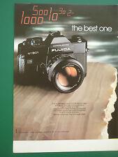 10/1976 PUBLICITE FUJICA ST 901 APPAREIL PHOTO CAMERA ORIGINAL FRENCH ADVERT