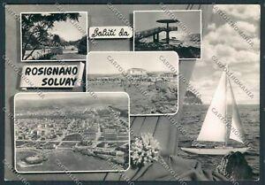 Rosignano-Solvay-saluti-da-foto-cartolina-B2842-SZG