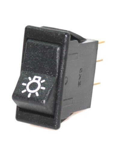 ENG Schalter Wippenschalter Licht Haupscheinwerfer 111050 Lampen 2 Fach 12 V