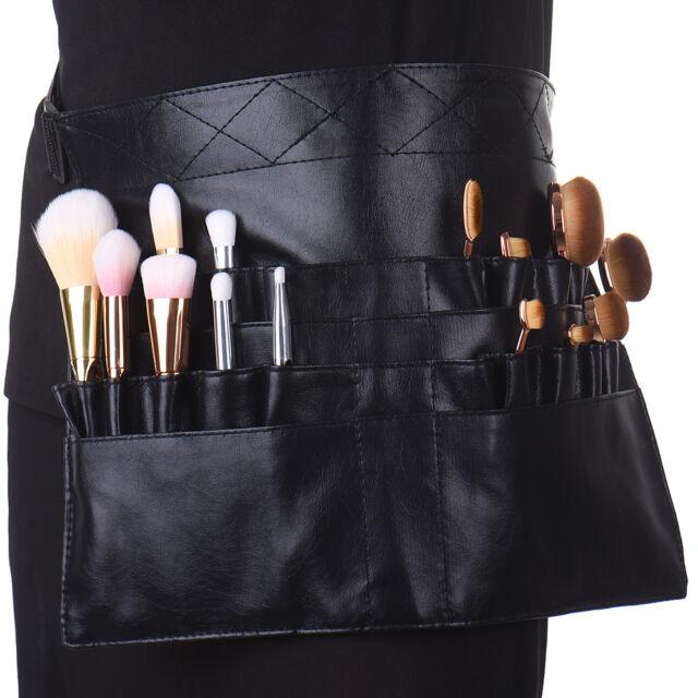 Cosmetic Makeup Brush Apron Waist Bag Artist Belt Strap Holder Toolbelt  Black fd5b221bf7cc9