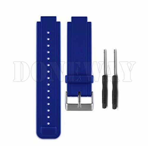 Replacement Silica Gel Wristwatch Band Strap w//Tools for Garmin Vivoactive New #