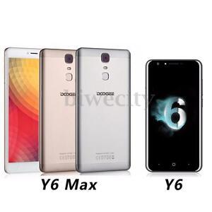 DOOGEE Y6 Max/Y6 6.5''/5.5'' Android 6.0 Octa Core Fingerprint 4G Smartphone