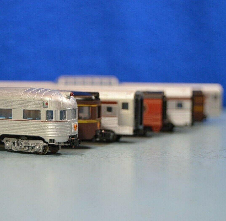 Con-Cor N-Gauge PRR Heavyweight Passenger Cars - Lot of Seven - LNIB