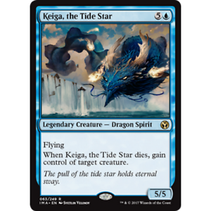1X-Keiga-The-Tide-Estrellas-Raro-Iconico-Master-Mtg-NM-Magia-Gathering