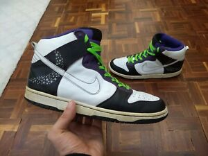 huge discount a02a0 9a9ec Image is loading 2006-Nike-Dunk-High-Crocodile-Stars-Size-9-