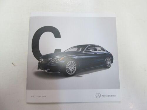 2015 Mercedes Benz C-Class Sedan Sales Brochure Manual FACTORY OEM DEALERSHIP