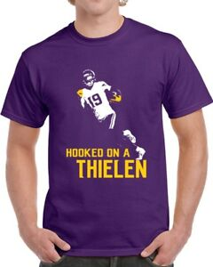 285eff18 Adam Thielen Minnesota Football Team Hooked on a Thielen Purple T ...