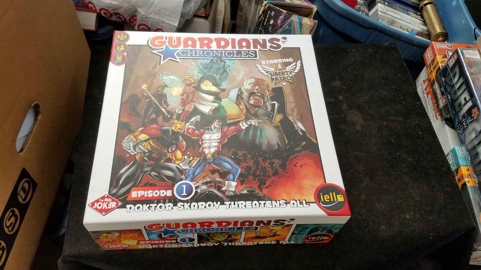 2014 Gelatina rojo Joker guardianes de crónicas episodio 1 juego de mesa COMPLETO