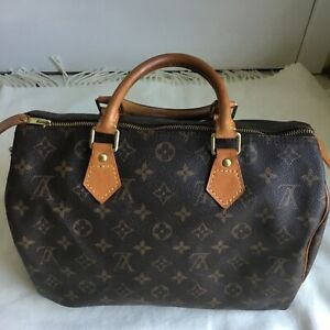 2ec1aa807f39 Image is loading Louis-Vuitton-Monogram-Speedy-30-Hand-Bag