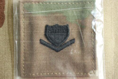USCG US COAST GUARD I//A MULTICAM OCP E-4 HOOK BACK CAMOUFLAGE CAMO UNIFORM RANK