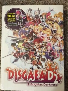 Details about Disgaea D2 A Brighter Darkness Prima Game Guide Sealed + DLC  Code & Lithograph