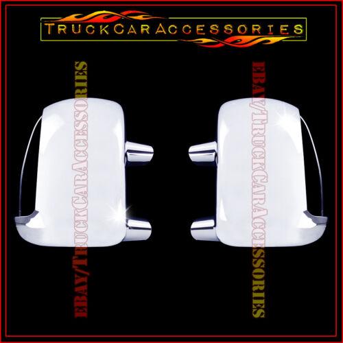 For Super Duty F250//350//450 99-2007+Excursion 2000-05 Chrome Mirror Cover SIGNAL