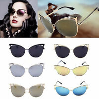 Woman's Retro Classic Design Cat Eye Sunglasses Fashion Shades Vintage Glasses