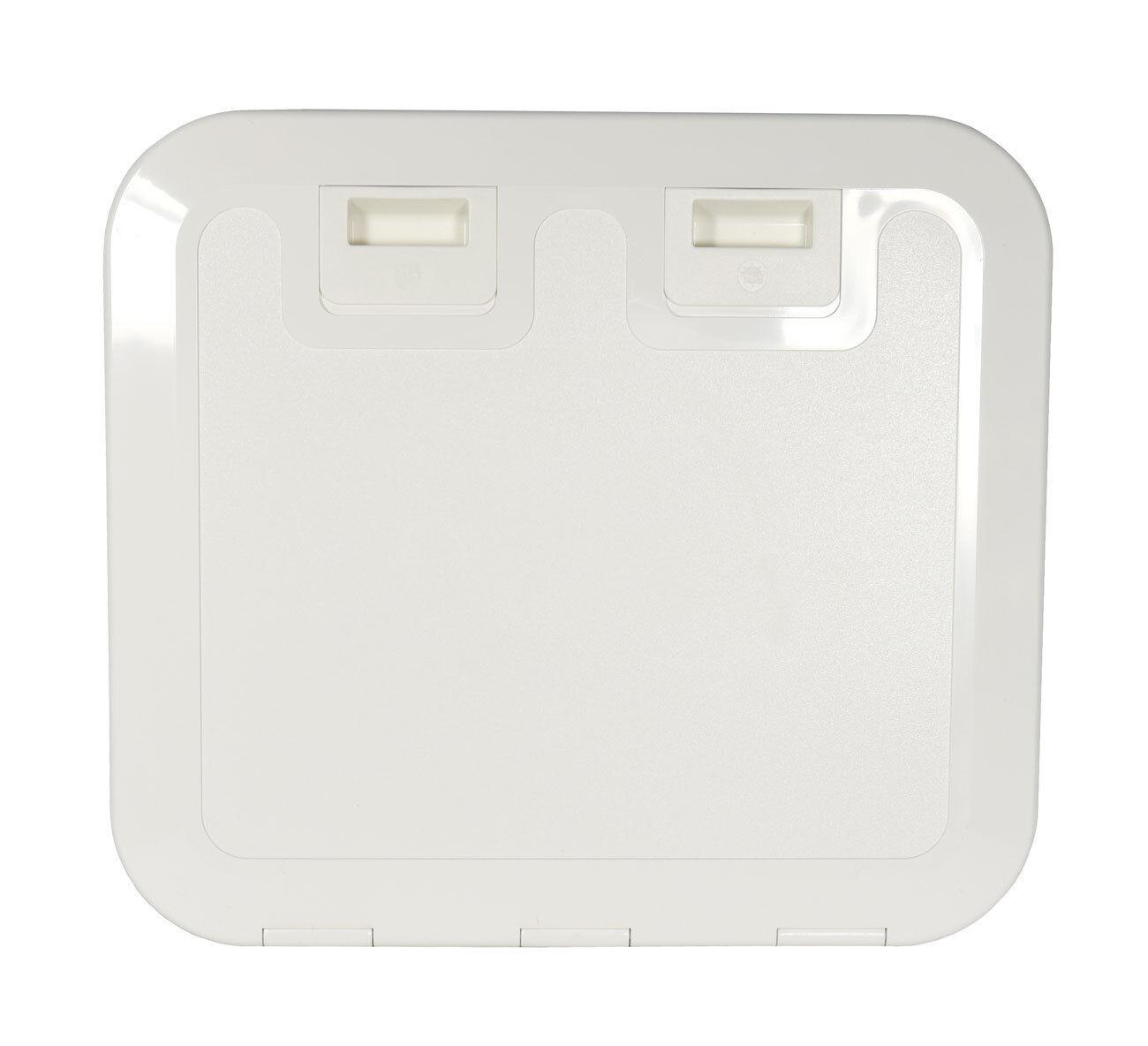 Osculati Kunststoff Inspektions-Luke 520x465mm weiß oder creme Luke Stiefel Stiefel Stiefel Klappe 61010c