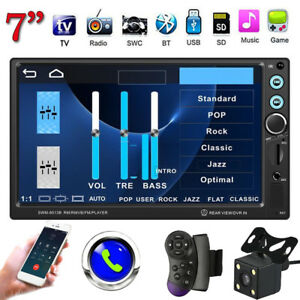 7-039-039-Car-HD-2DIN-Stereo-MP5-Player-BT-FM-Radio-USB-AUX-Head-Unit-Reversing-Camera
