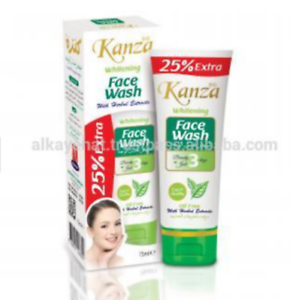 KANZA WHITENING FACE WASH OIL FREE-75ML | eBay