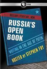 Russia's Open Book: Writing in the Age of Putin [DVD] [2014]
