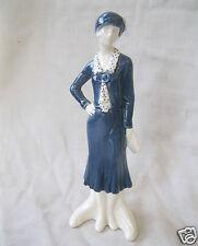 Goebel Porzellan Figur Faszination der Mode The cosmopolitan Dame mit Hut 16 280