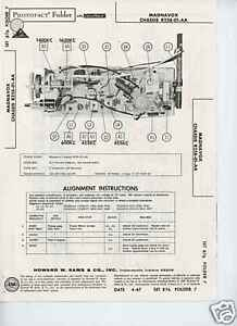 Details about Magnavox Chis R258-01-AA Receiver Photofact on universal odyssey, philips odyssey, maganavox odyssey, ralph baer odyssey,