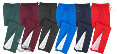 Micro Fibre Track Pants Size 6 8 10 12 14 Kids Sports Boys Girls
