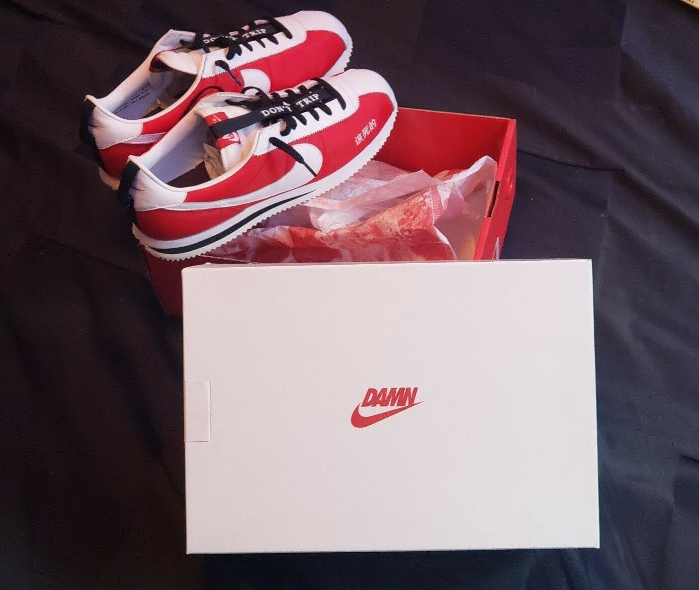 NEW Nike Cortez Kenny 2 Size 13   Red White