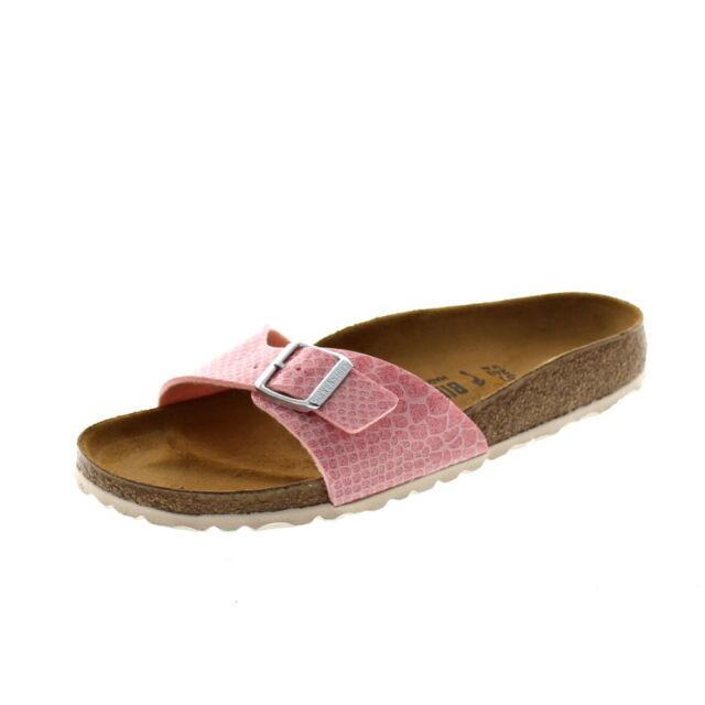 c6023cef90605 Birkenstock Madrid Sandals Mules Size 37-42 Rosa Snake 1009102 EUR ...