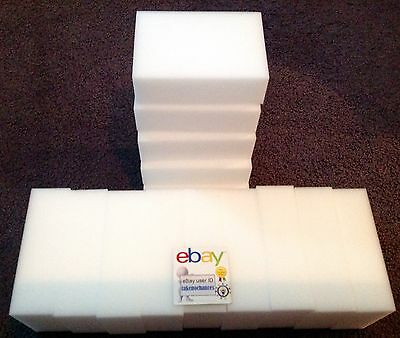 "50 PACK Magic Sponge Eraser Heavy Duty Extra Power Pro Melamine Foam 3//4/"" Thick"