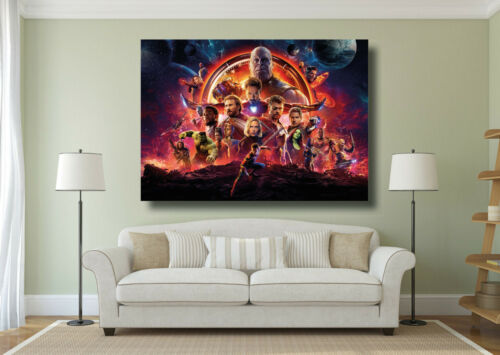 A0 A1 A2 A3 Maxi Avengers Hero Characters Large Poster Wall Art Print