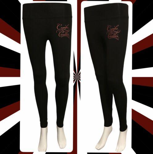 Red Font Crooks /& Castles women's leggings available