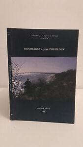 Tributos De Jean Pouilloux - 1998 - Ediciones CASA DE Oriente