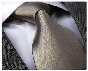 Celino 100% silk Solid Champagne color necktie tie free box + shipping Turkey