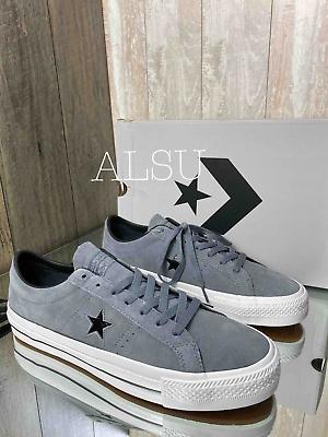 Sneakers Men's Converse 162514c One Star Pro Low Top Suede Cool Grey   eBay