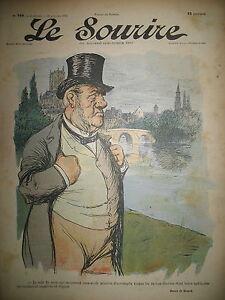 LE-SOURIRE-N-144-JOURNAL-HUMOUR-DESSINS-HUARD-DESTEZ-BAC-1902