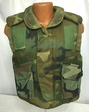 1989 US Army Soldiers Woodland Camo Body Armor Vest