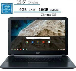 "🔥2021 Acer 15.6"" HD Chromebook Intel Celeron/4G/16GB eMMC/Webcam CB3-532-C8DF🔥"