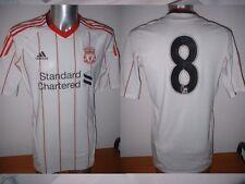 Liverpool Adidas Adult XL 8 Player Issue Techfit Shirt Jersey Soccer Football