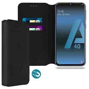 Coque Etui Housse de protection Porte carte pour Samsung Galaxy A40