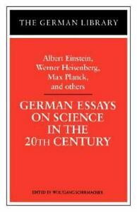 german essays on science in the th century   ebay image is loading germanessaysonscienceinthethcentury