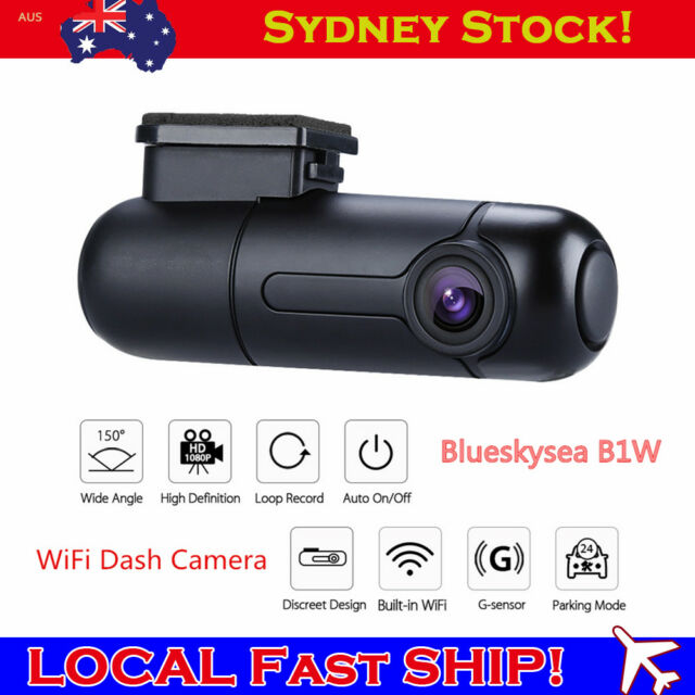 B1W 1080P Mini WiFi Dash Camera Capacitor Wide Angle Car Camera Novatek GM8135S