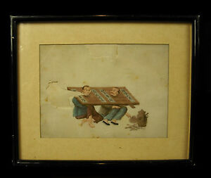 Scene-of-Torture-Watercolour-Xixth-on-034-Pith-Paper-034-China