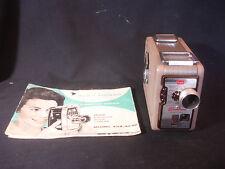 Old Vtg Kodak Brownie 8MM Movie Camera II Photography With Paperwork