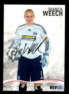 Bianca-Weech-Autogrammkarte-Hamburger-SV-2009-10-Original-Signiert