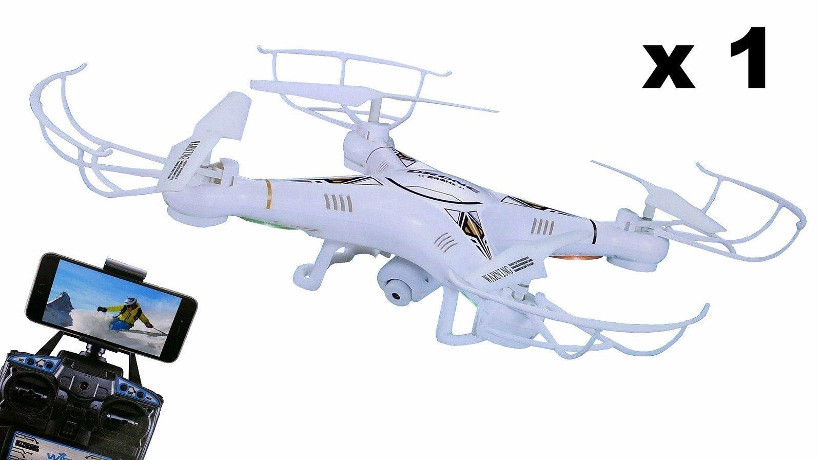 WiFi Drone UFO Quadcopters 2.0 MP HD Camera 2,4 GHz 6 Axles 8987W remote control